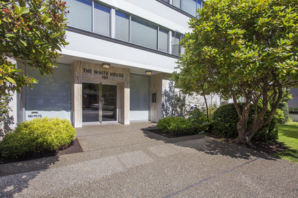 Entrance at 812 - 2033 Comox Street, West End VW, Vancouver West