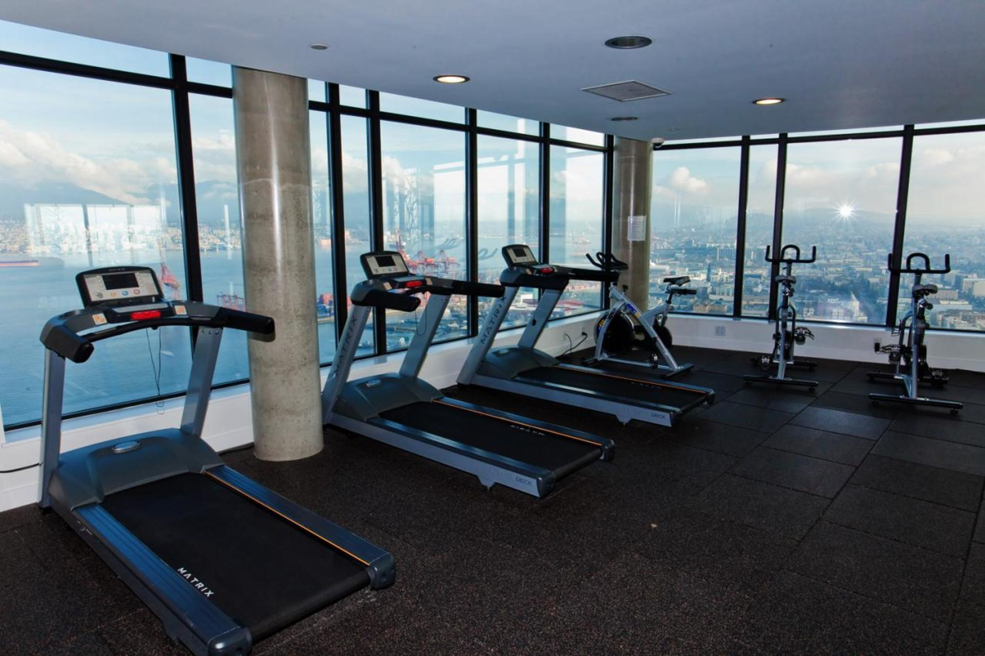 Gym at 3806 - 128 Cordova, Downtown VW, Vancouver West