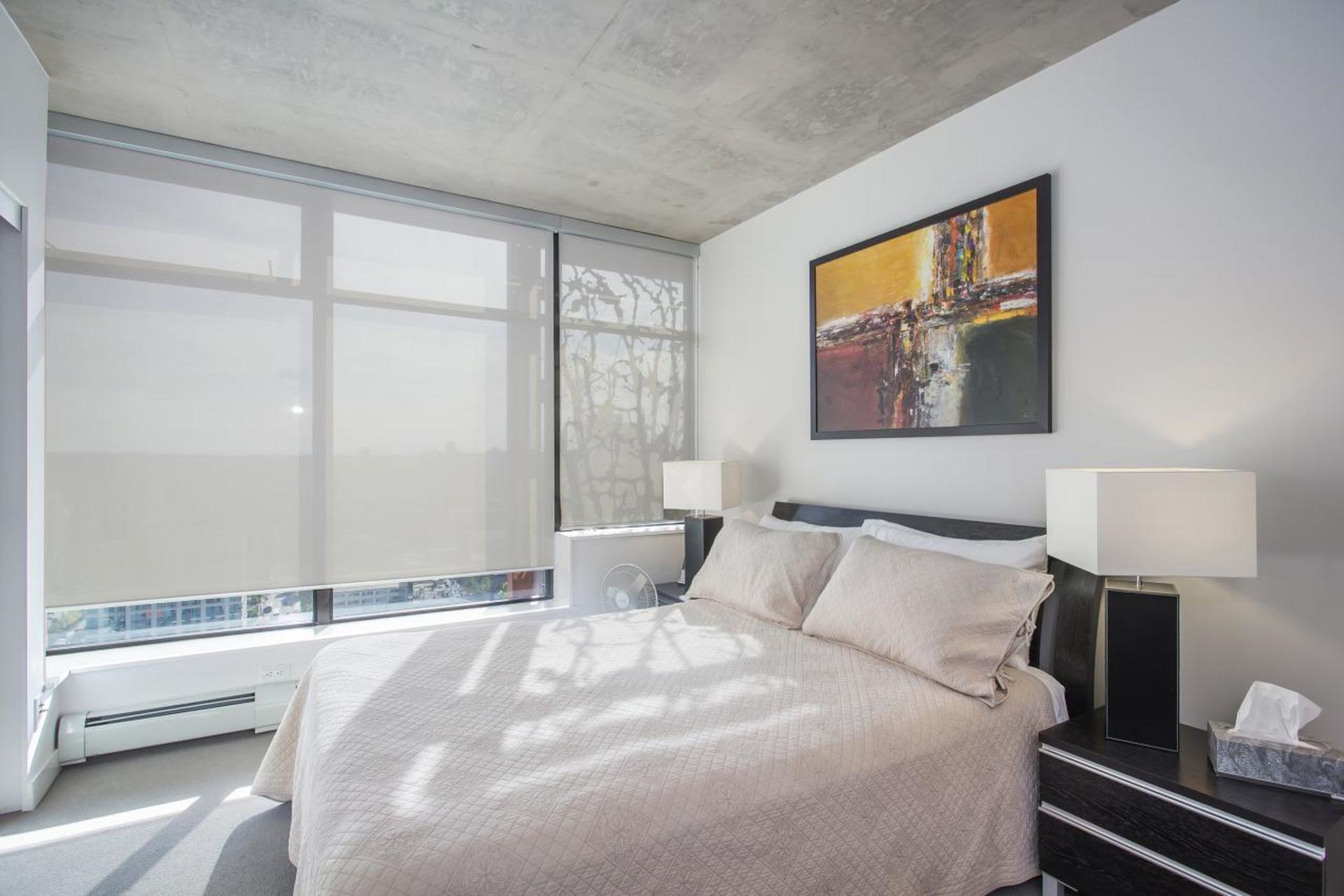 Master Bedroom at 3806 - 128 Cordova, Downtown VW, Vancouver West