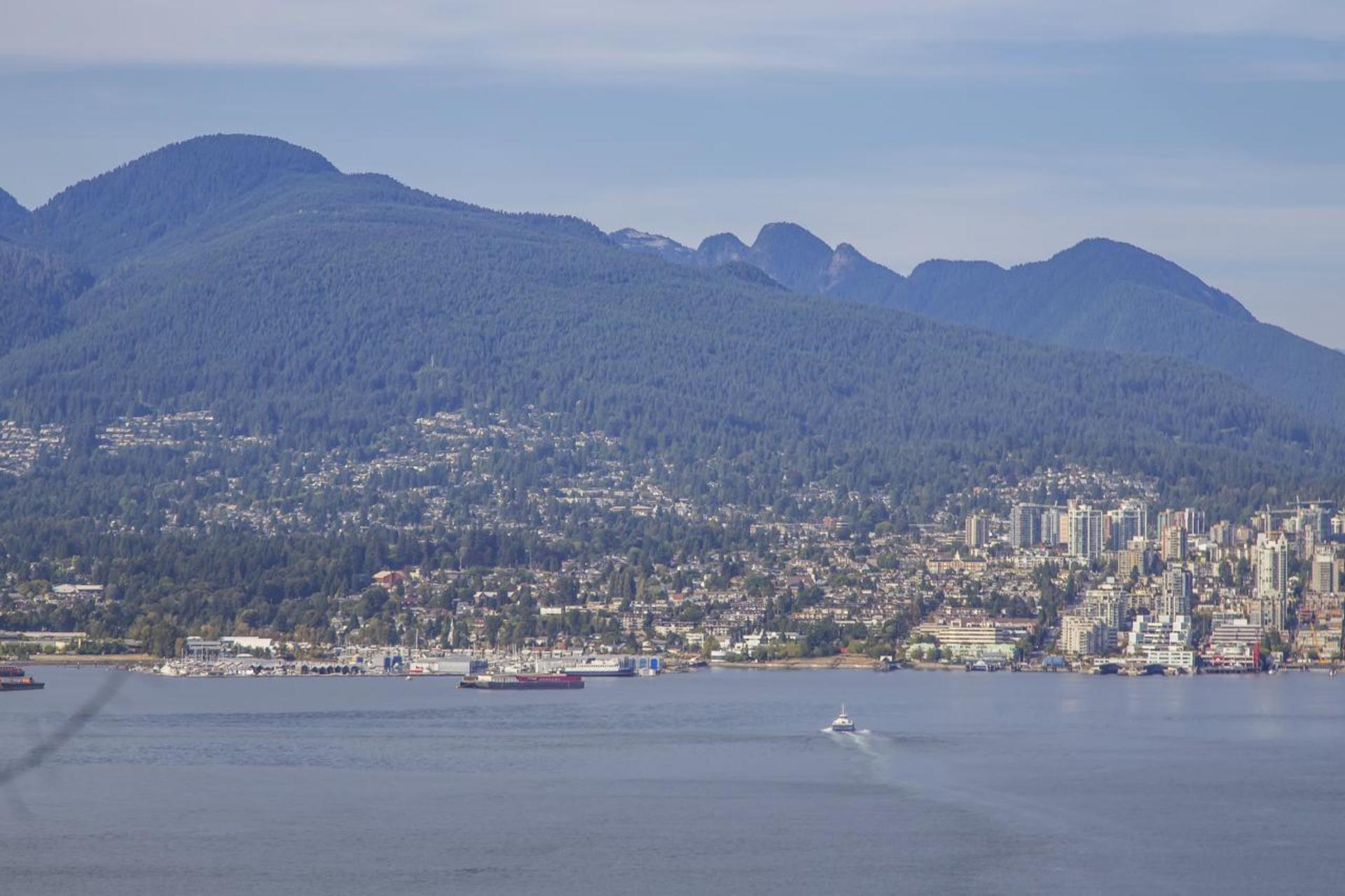 Mountain View at 3806 - 128 Cordova, Downtown VW, Vancouver West