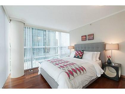 Bedroom at 503 - 1050 Burrard, Downtown VW, Vancouver West