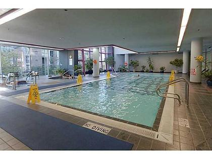 Indoor Pool at 503 - 1050 Burrard, Downtown VW, Vancouver West