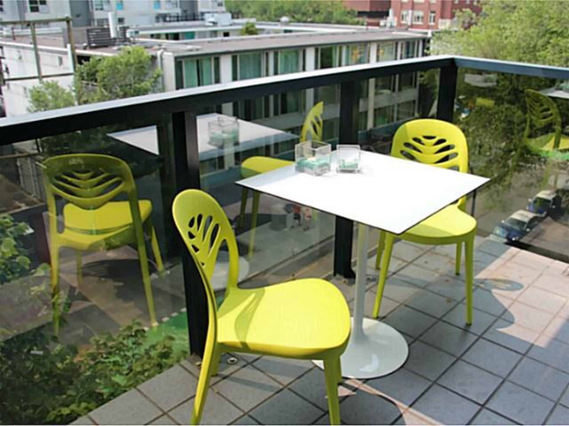 Patio at 503 - 1050 Burrard, Downtown VW, Vancouver West
