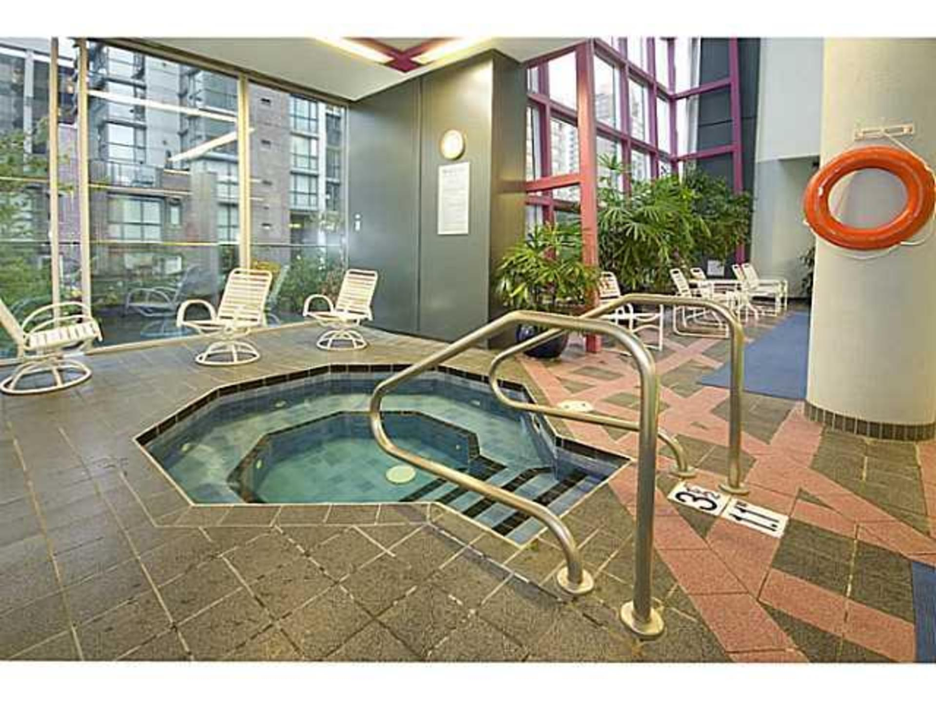 Jacuzzi at 503 - 1050 Burrard, Downtown VW, Vancouver West