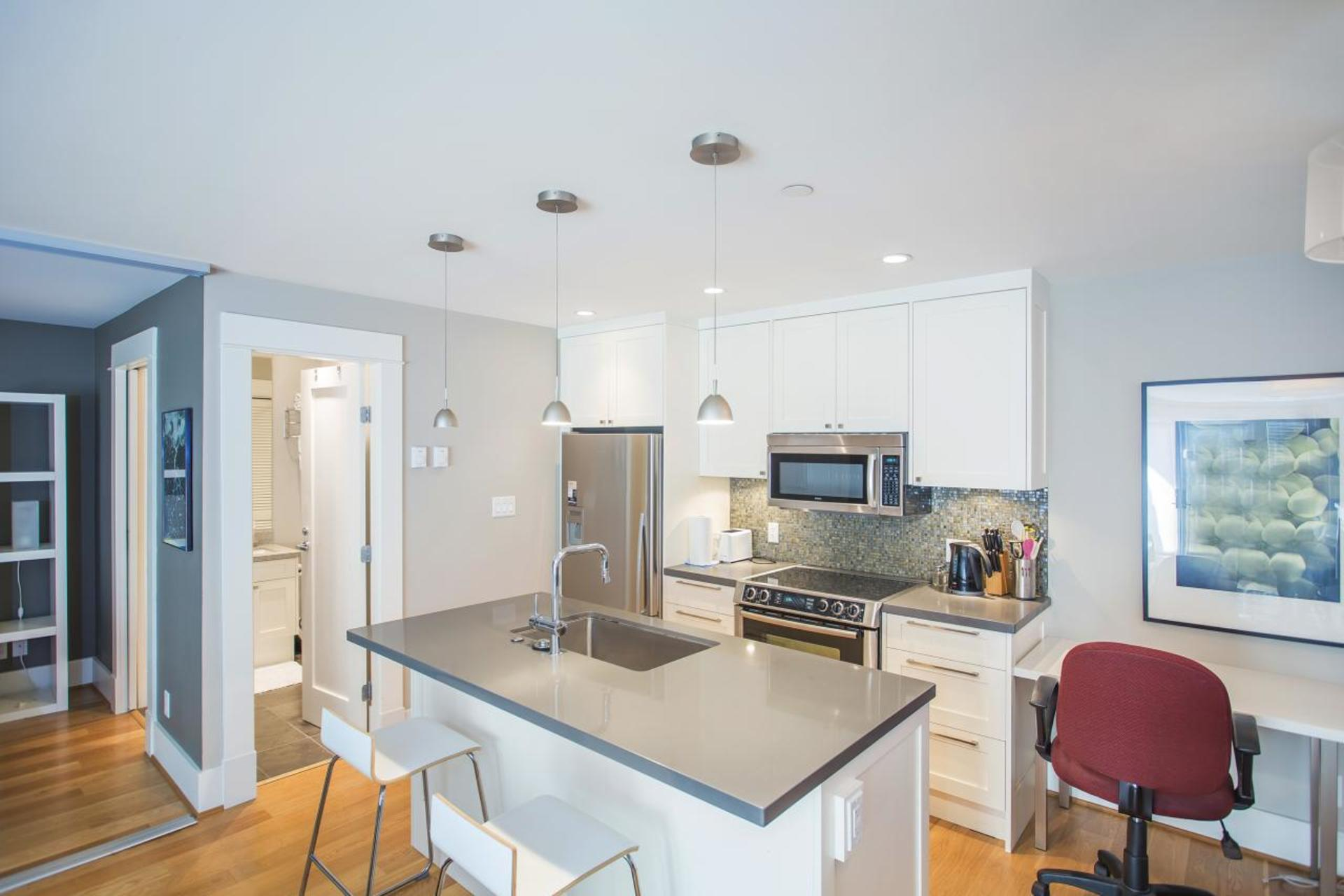 Kitchen at 3235 West 3rd Avenue , Kitsilano, Vancouver West