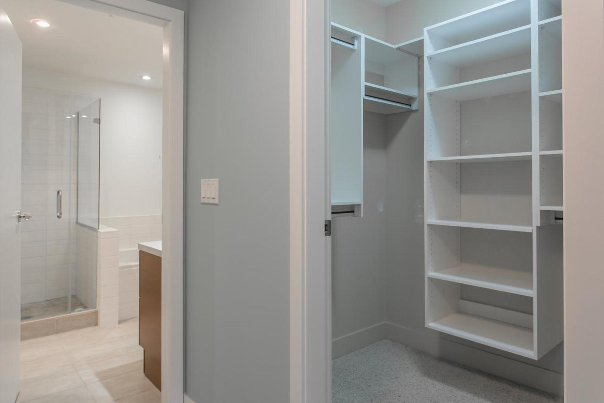 Bathroom/Closet at 212 - 6015 Iona Drive, University VW, Vancouver West