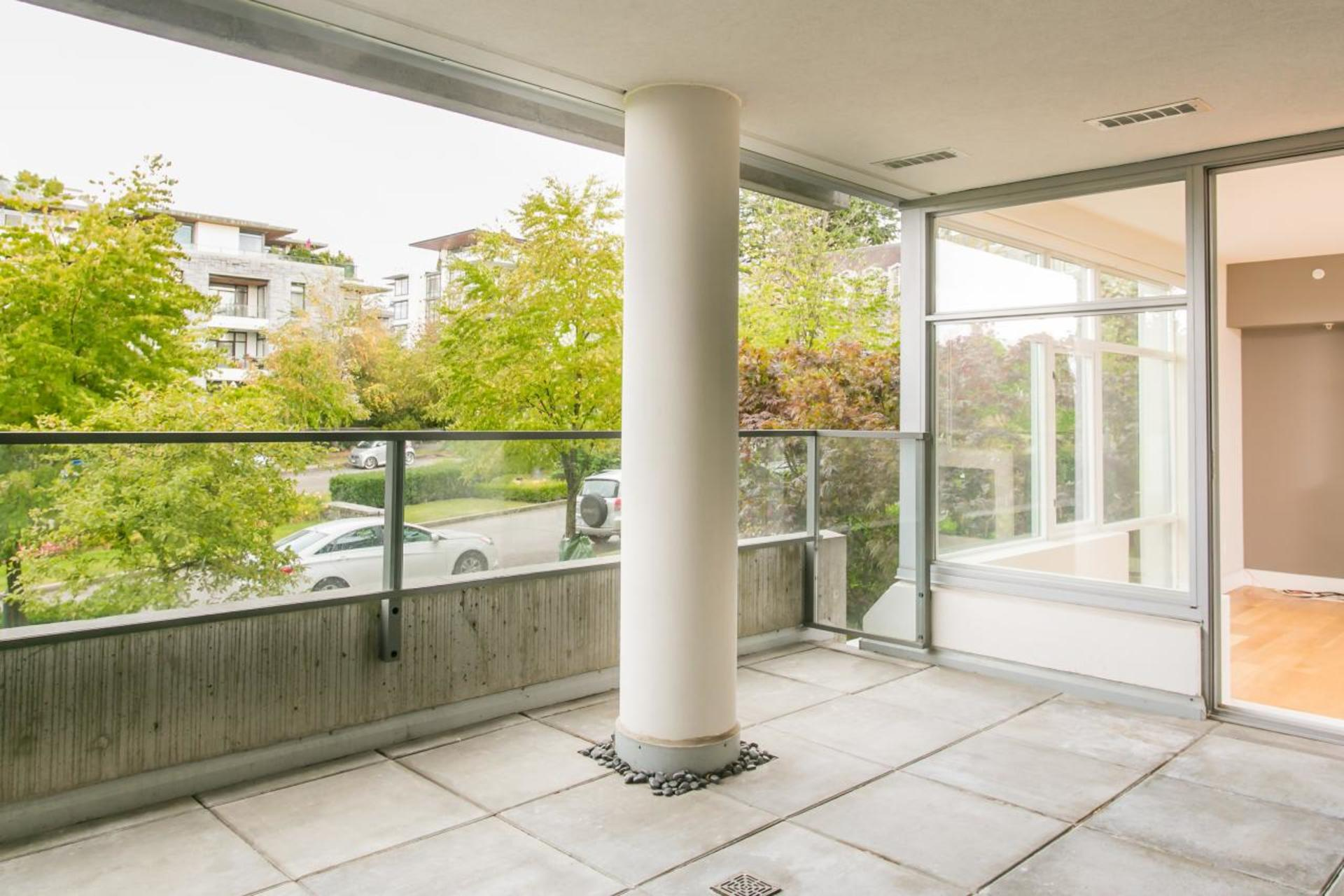 Balcony at 212 - 6015 Iona Drive, University VW, Vancouver West