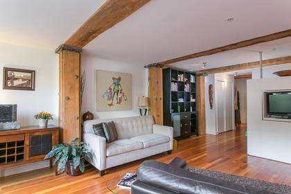 Family Room at 201 - 528 Beatty, Downtown VW, Vancouver West