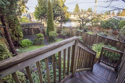 Patio's Stairs at  4549 12 Th Avenue, Point Grey, Vancouver West