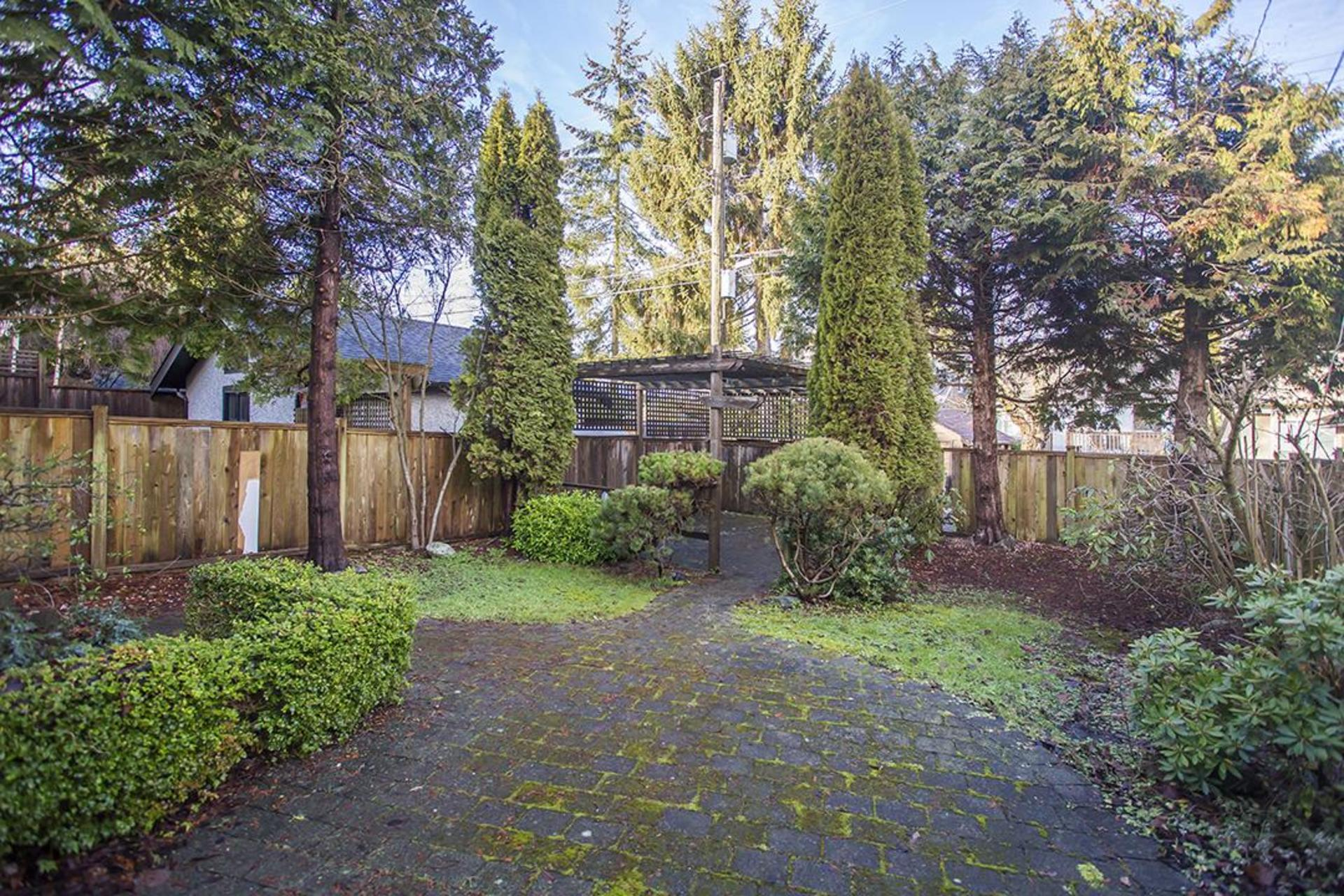 Backyard at  4549 12 Th Avenue, Point Grey, Vancouver West