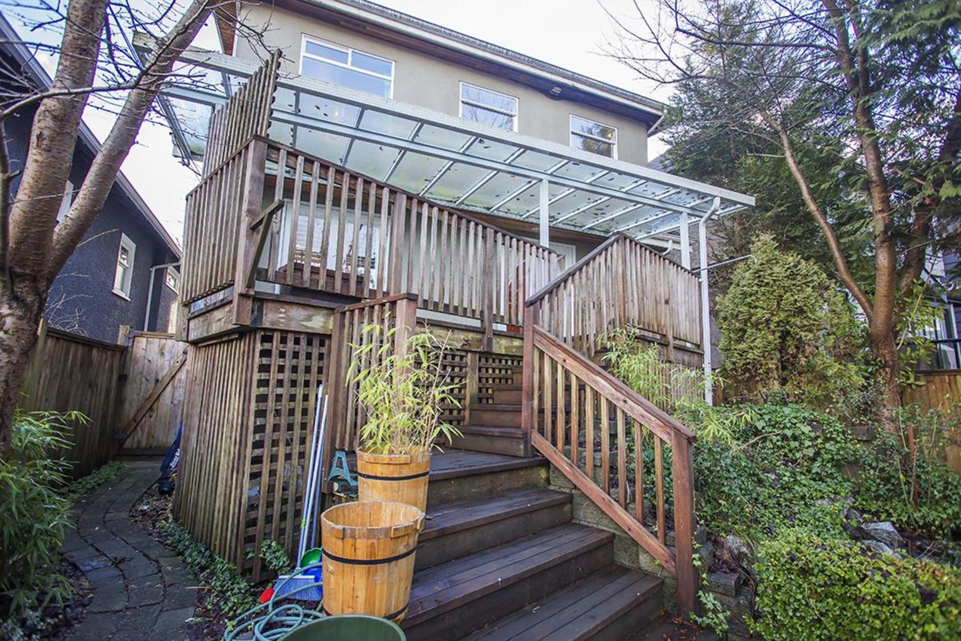 Patio at  4549 12 Th Avenue, Point Grey, Vancouver West