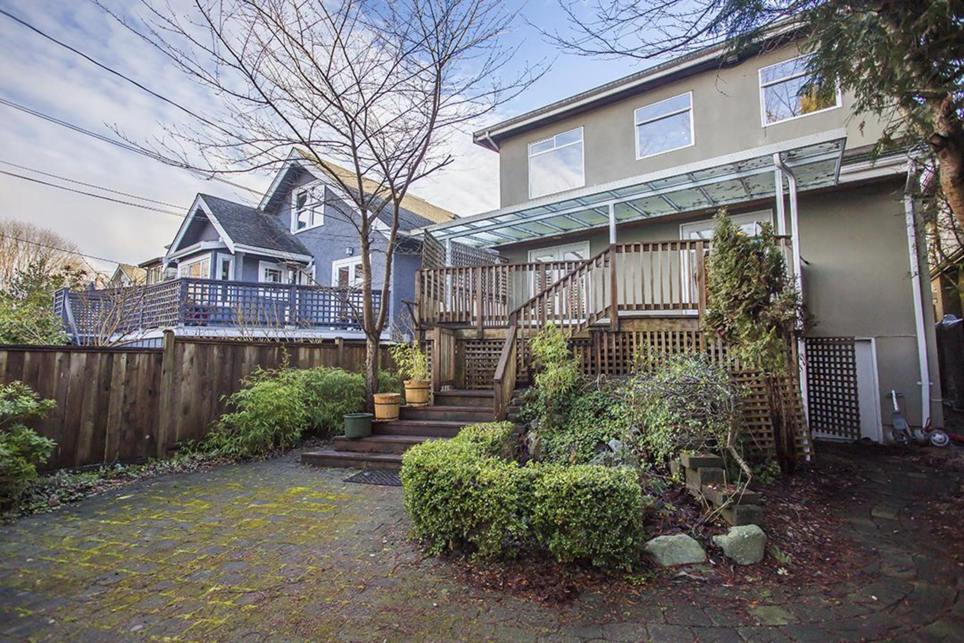 back side at  4549 12 Th Avenue, Point Grey, Vancouver West