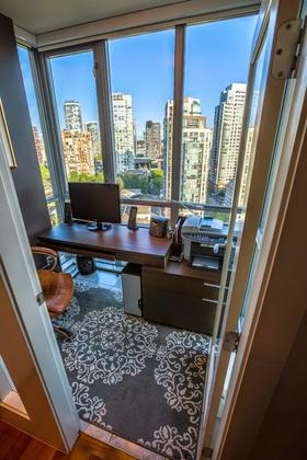 Office at #1801 - 1005 Beach Avenue, Downtown VW, Vancouver West