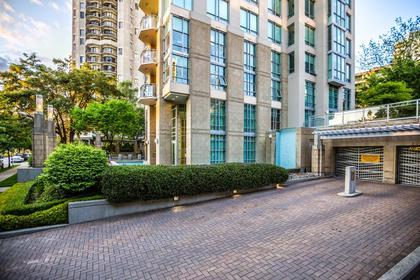 Outside Building at #1801 - 1005 Beach Avenue, Downtown VW, Vancouver West