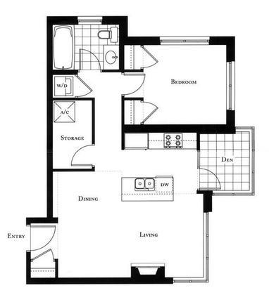 Alvar_Floorplan at #1801 - 1005 Beach Avenue, Downtown VW, Vancouver West