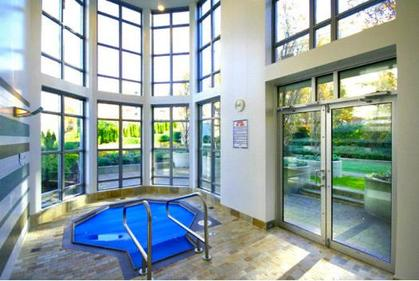 Hot tub at #1801 - 1005 Beach Avenue, Downtown VW, Vancouver West