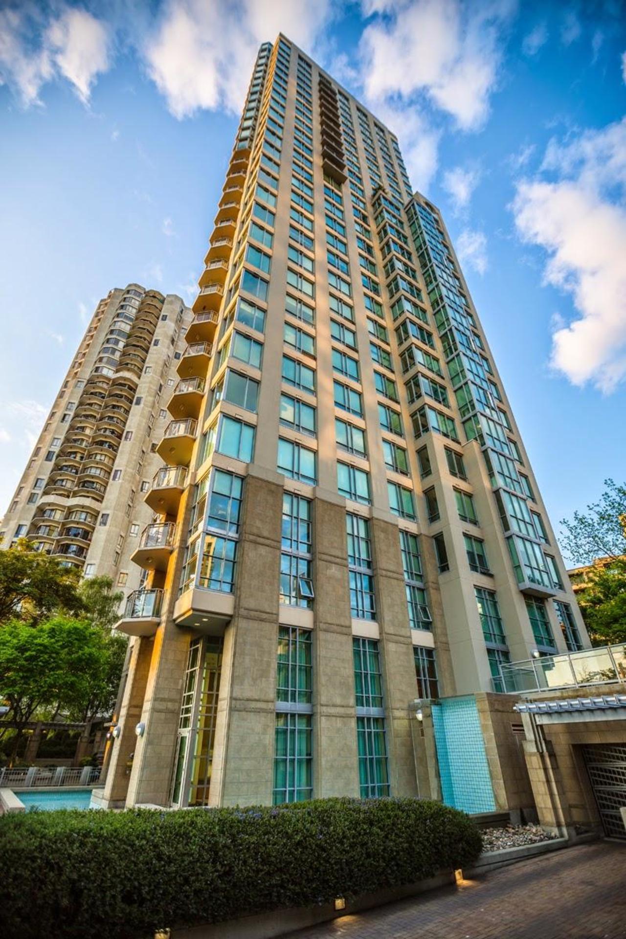 Building at #1801 - 1005 Beach Avenue, Downtown VW, Vancouver West