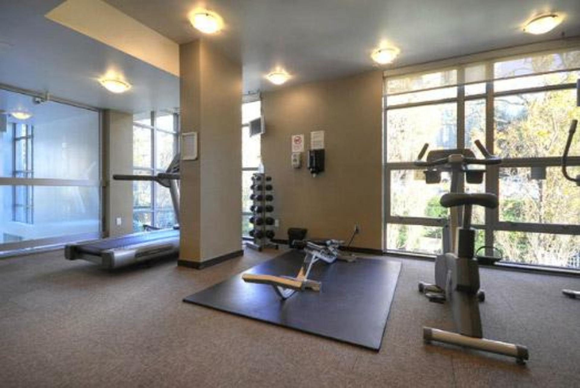 Gym at #1801 - 1005 Beach Avenue, Downtown VW, Vancouver West