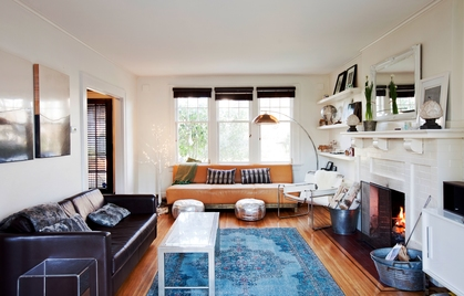Living Room at 4260 Osler Street, Shaughnessy, Vancouver West