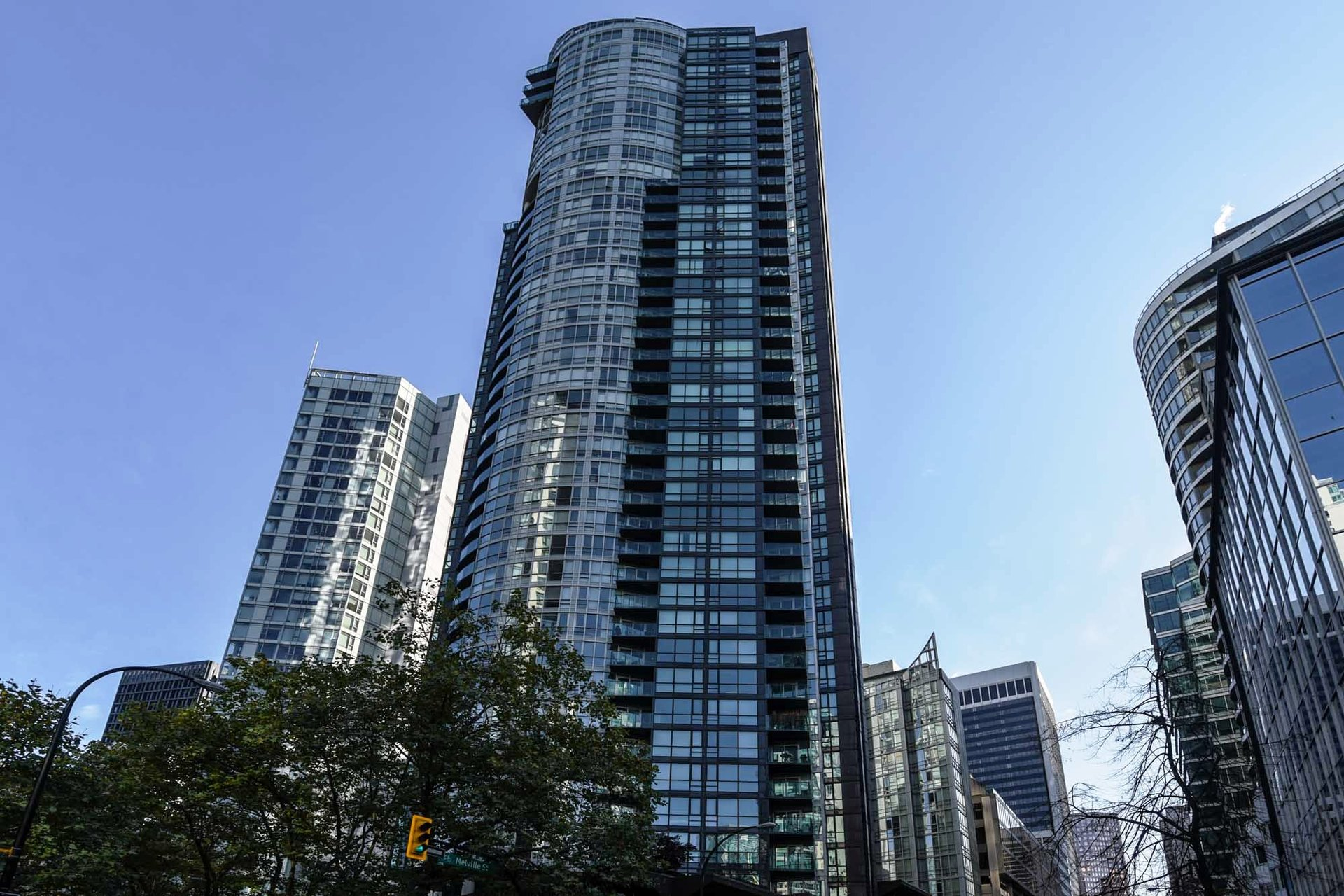 1 at 1607 - 1189 Melville, Coal Harbour, Vancouver West