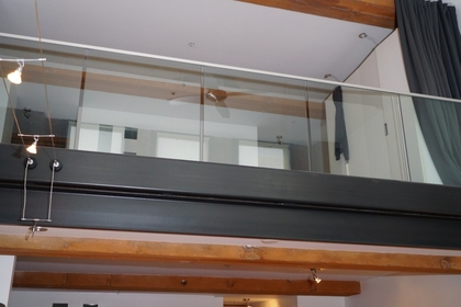 Indoor Balcony at 528 Beatty Street, Downtown VW, Vancouver West