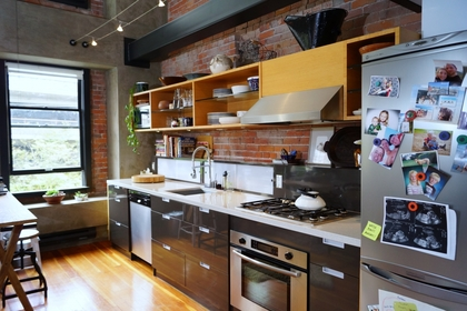 Kitchen at 528 Beatty Street, Downtown VW, Vancouver West