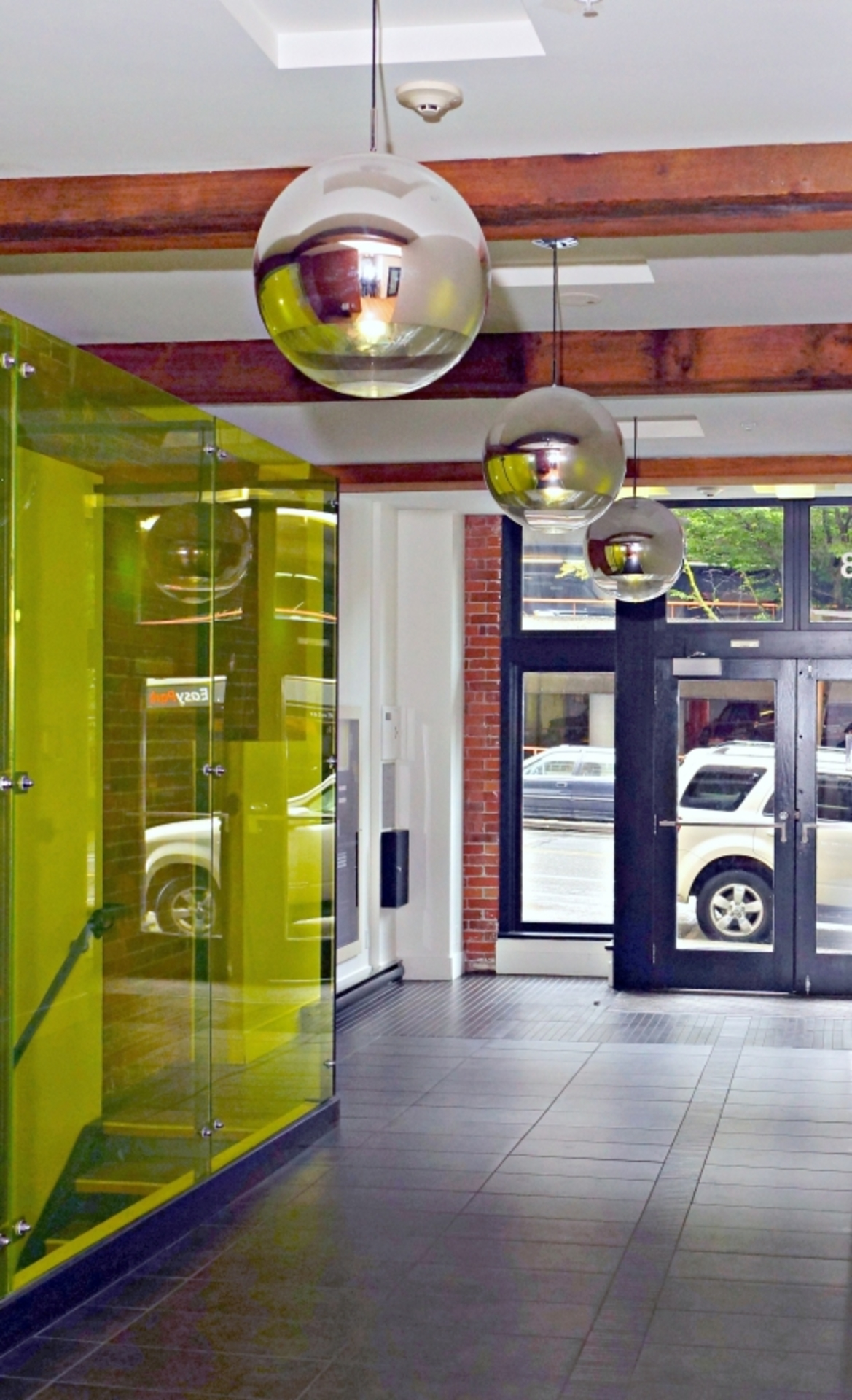 Lobby at 528 Beatty Street, Downtown VW, Vancouver West