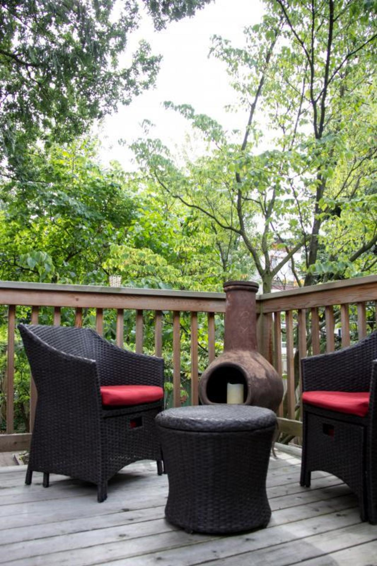 back-porch at 3228 West 3rd Avenue, Kitsilano, Vancouver West