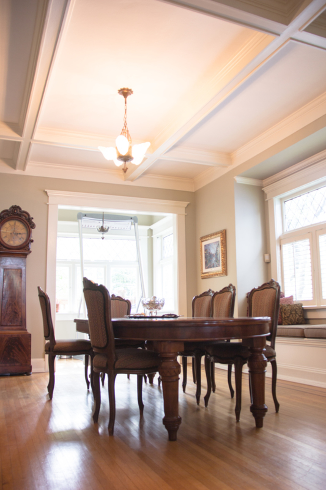 dining-room-ceiling at 3228 West 3rd Avenue, Kitsilano, Vancouver West