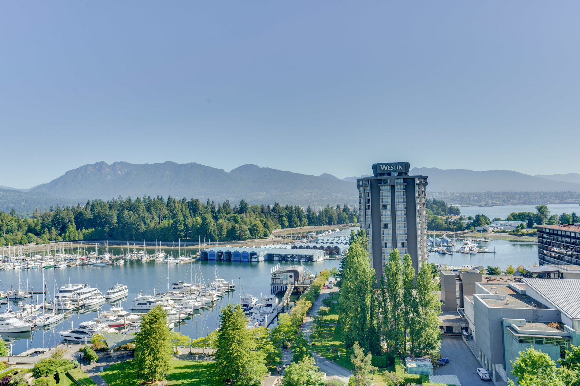 17 at 1303 - 1680 Bayshore Drive, Coal Harbour, Vancouver West