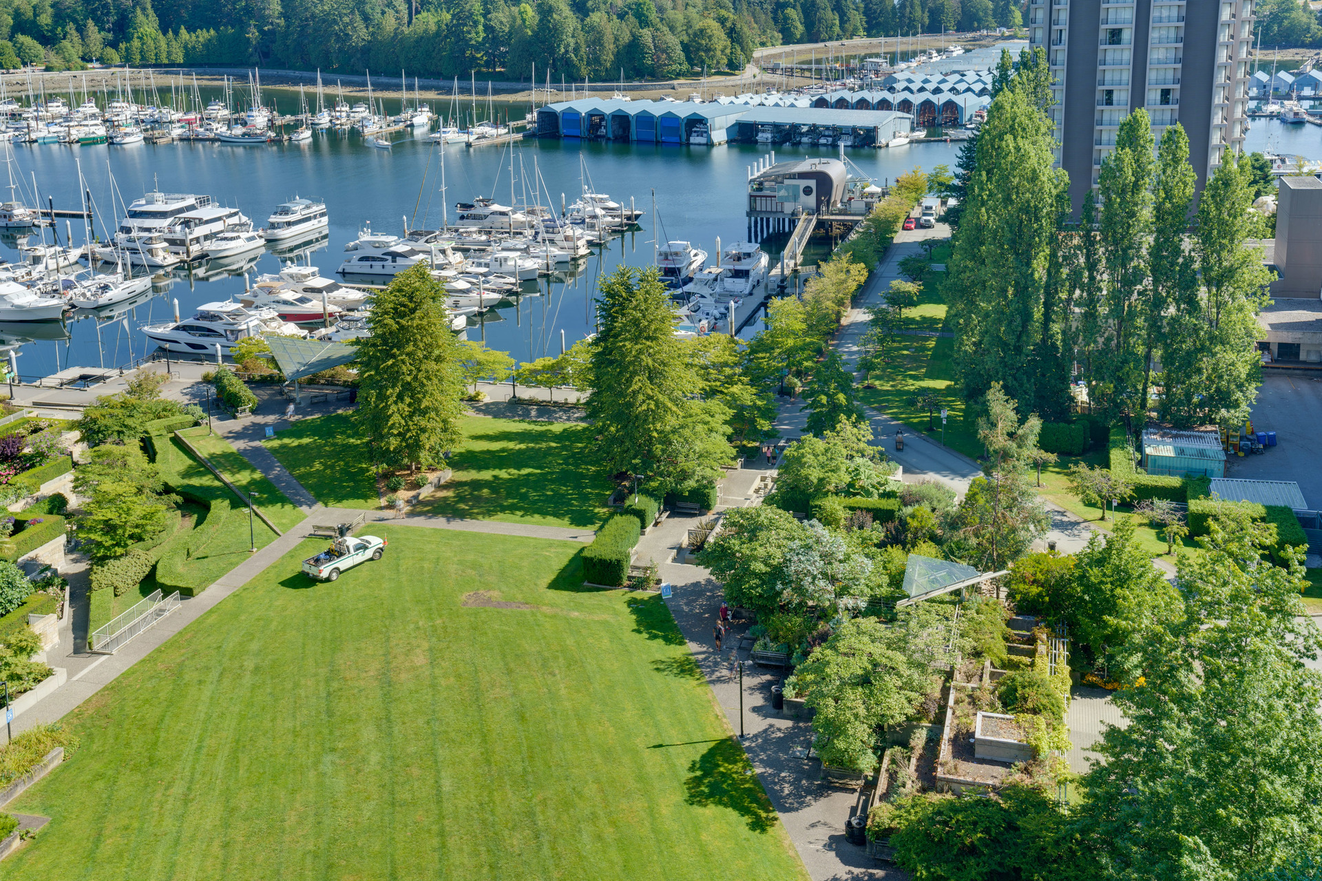 18 at 1303 - 1680 Bayshore Drive, Coal Harbour, Vancouver West