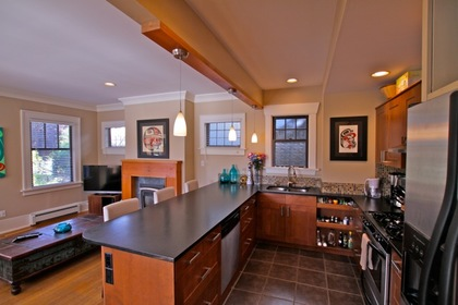 Kitchen at 1 - 3090 Point Grey Road, Kitsilano, Vancouver West