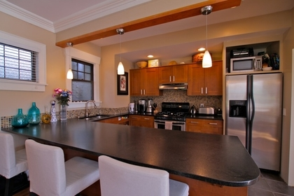 Dining Room at 1 - 3090 Point Grey Road, Kitsilano, Vancouver West