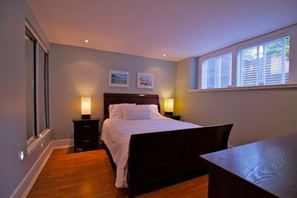 Bedroom at 1 - 3090 Point Grey Road, Kitsilano, Vancouver West
