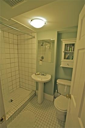 Bathroom at 1 - 3090 Point Grey Road, Kitsilano, Vancouver West