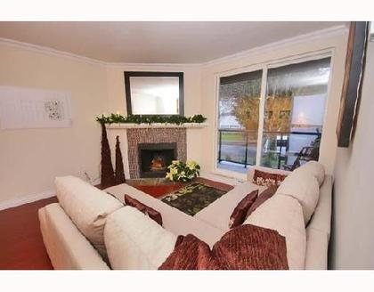 Living Room at 311 - 1550 Barclay Street, West End VW, Vancouver West