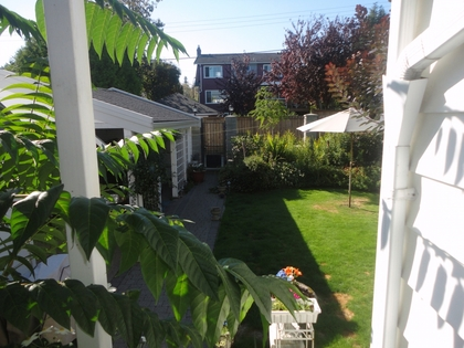 Backyard at Address Upon Request, South Cambie, Vancouver West