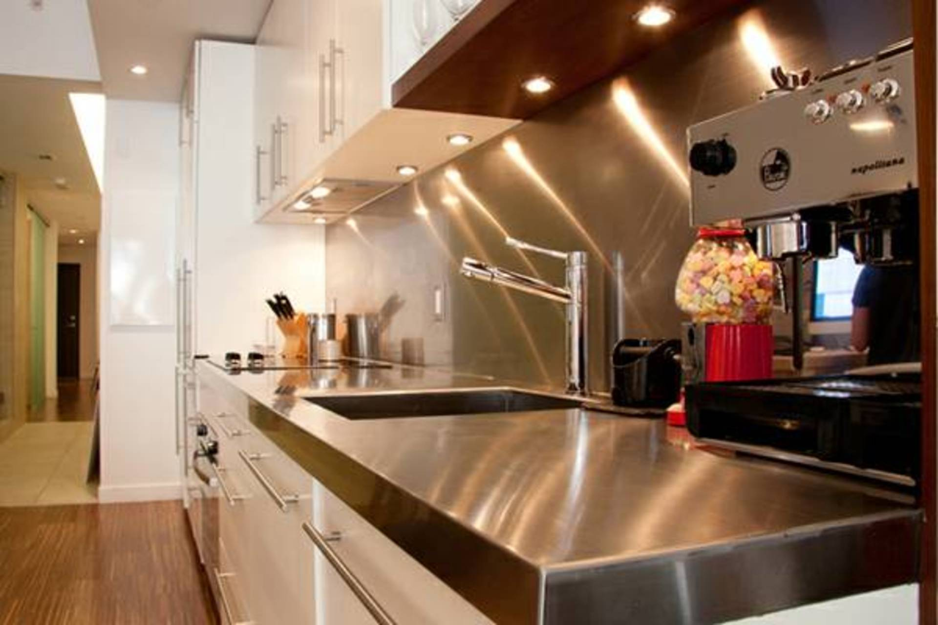 Kitchen at 36 Water Street, Downtown VW, Vancouver West