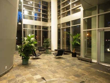 Lobby at 905 - 198 Aquarius Mews, Vancouver West