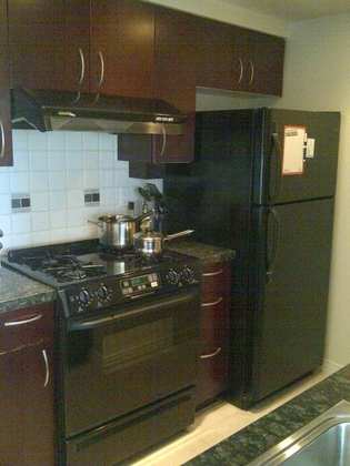Kitchen at 905 - 198 Aquarius Mews, Vancouver West