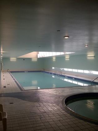 Indoor Pool at 905 - 198 Aquarius Mews, Vancouver West
