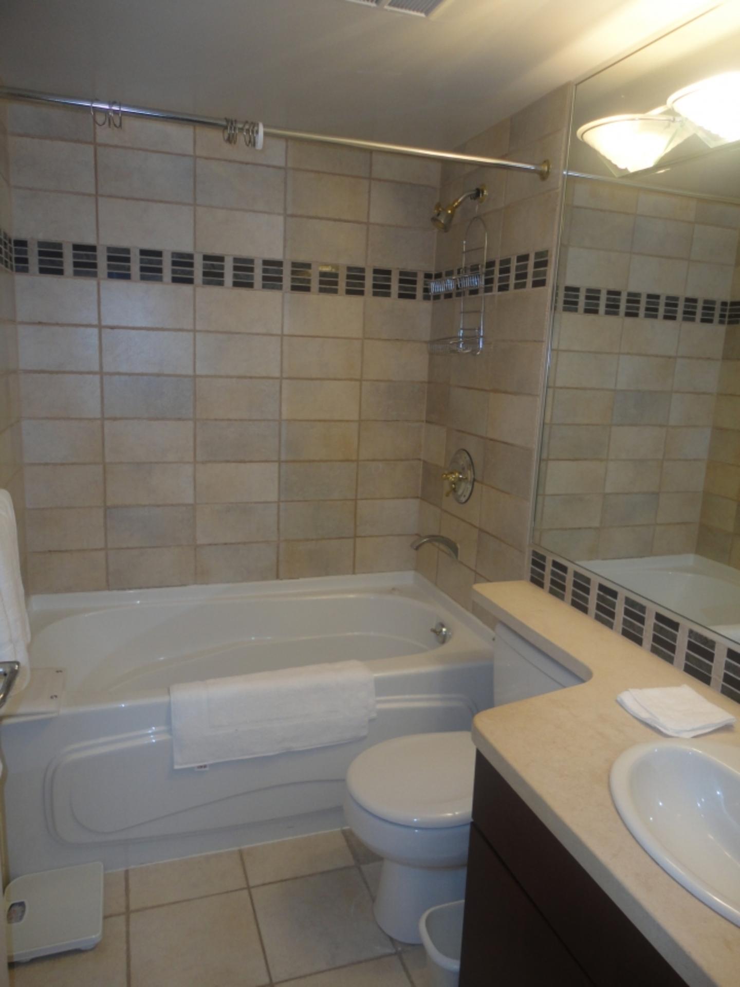 Bathroom at 905 - 198 Aquarius Mews, Vancouver West