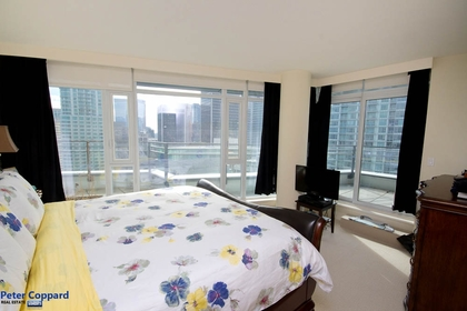 Bedroom at 3002 - 1205 West Hastings, Coal Harbour, Vancouver West