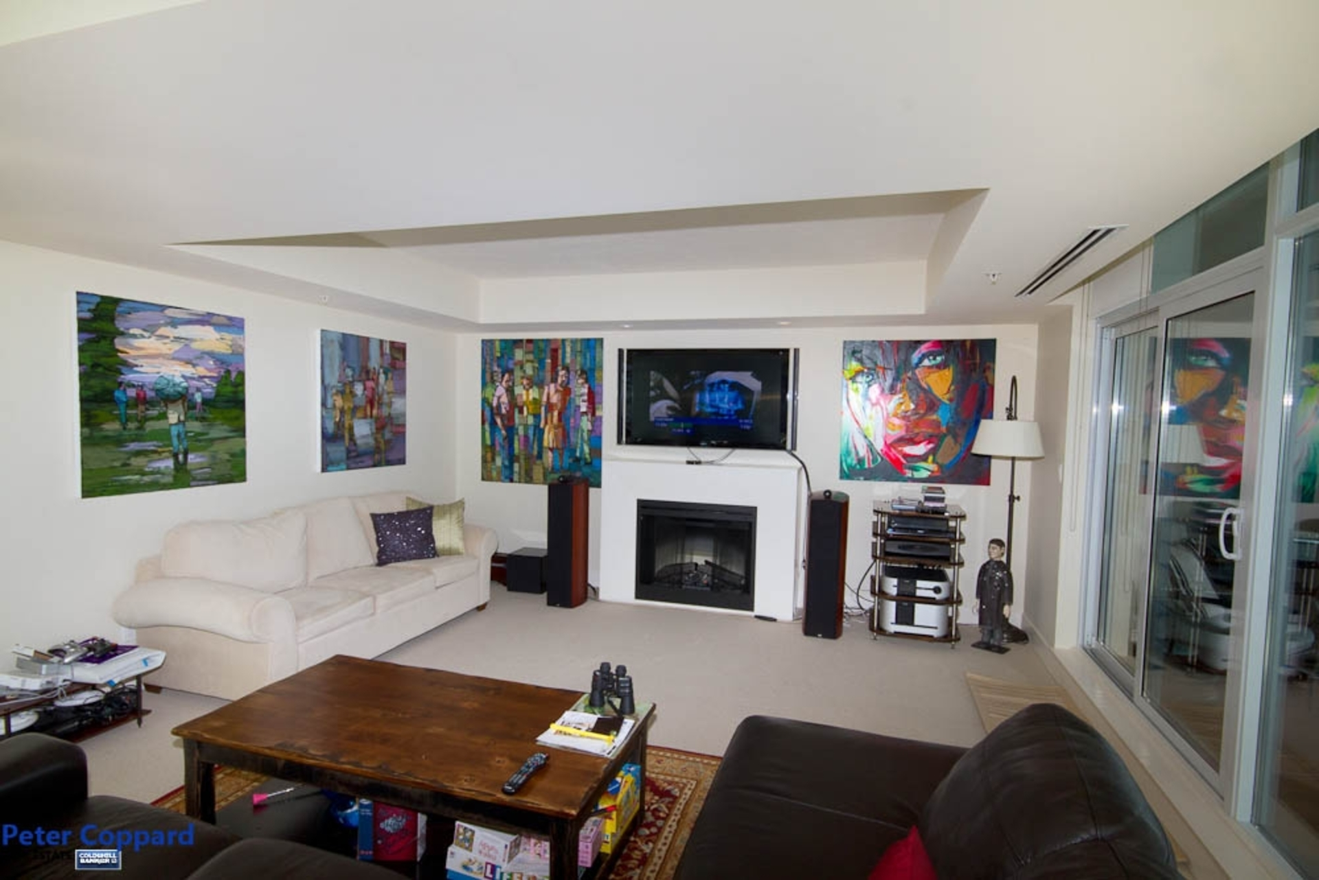Entertainment Room at 3002 - 1205 West Hastings, Coal Harbour, Vancouver West