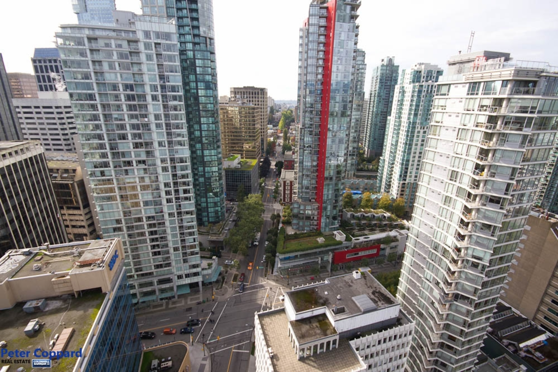 City View at 3002 - 1205 West Hastings, Coal Harbour, Vancouver West