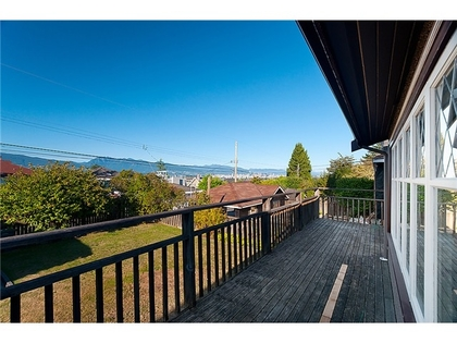 Balcony at 3961 W13 Avenue, Point Grey, Vancouver West