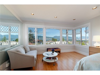 Living Room at 3961 W13 Avenue, Point Grey, Vancouver West