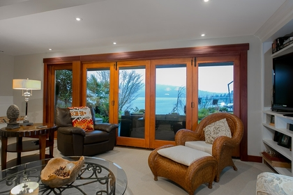 Family Room at Address Upon Request, Deep Cove, North Vancouver
