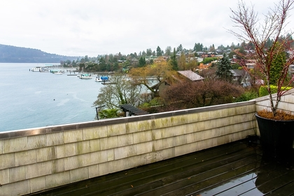 Water views at Address Upon Request, Deep Cove, North Vancouver
