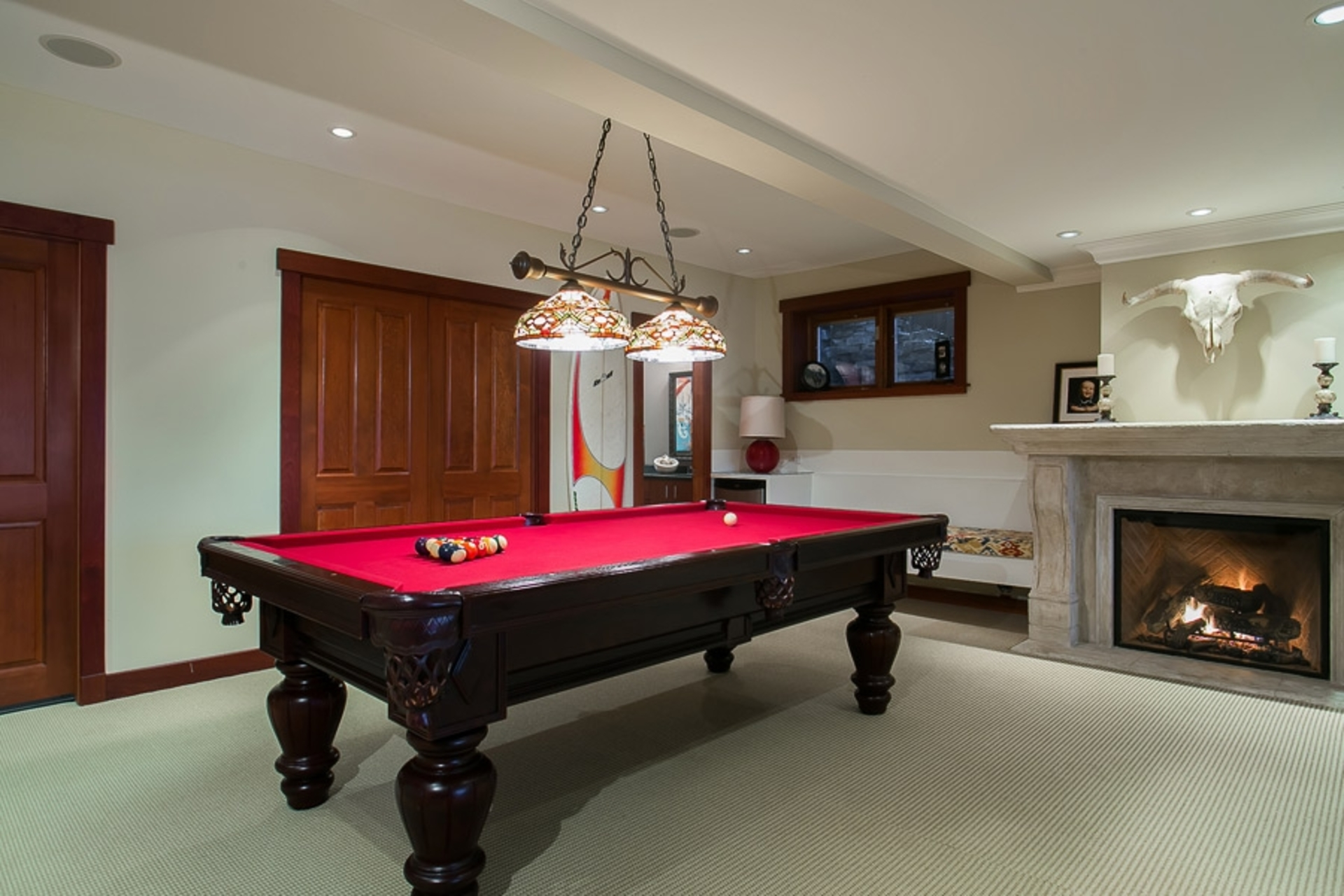 Entertainment Room at Address Upon Request, Deep Cove, North Vancouver